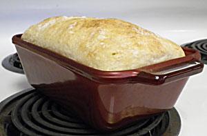 Potato White Loaf No-Knead Bread